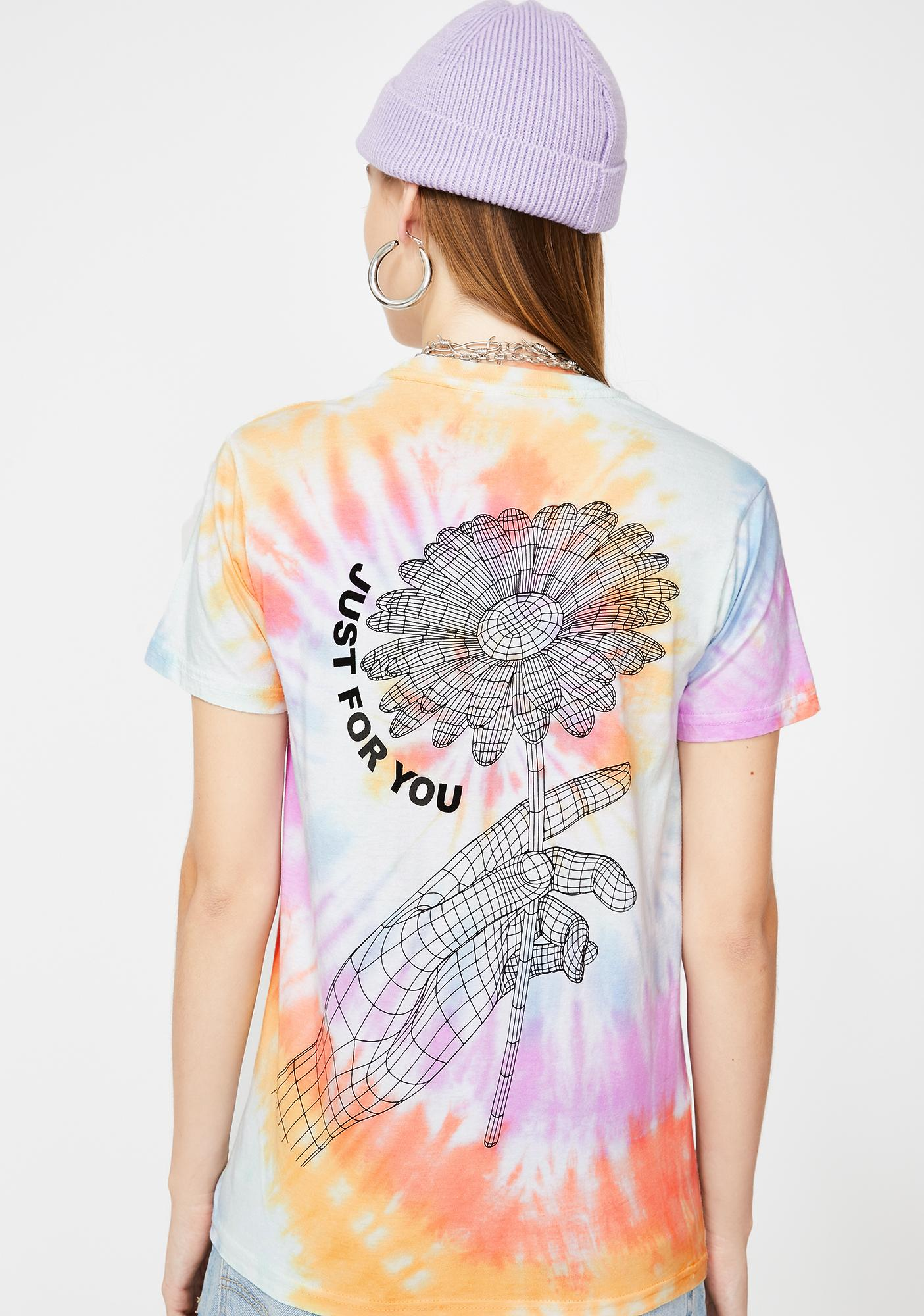 By Samii Ryan Just For You Tie Dye Tee