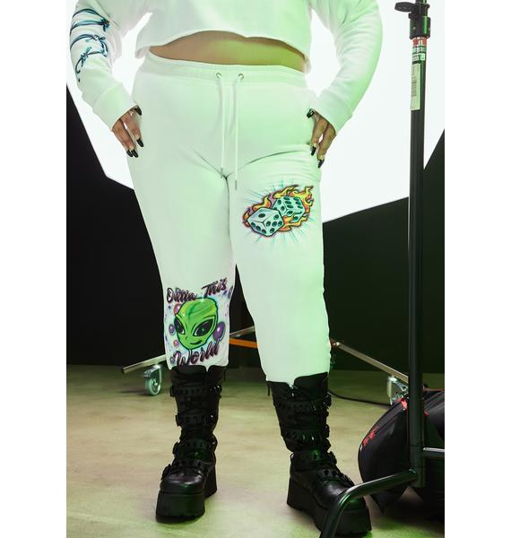 Current Mood Quick Vibe Check Airbrushed Joggers
