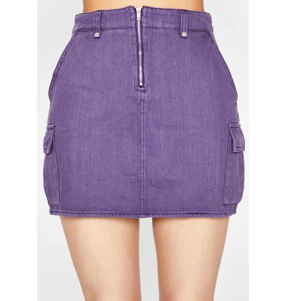 Flirty Fling Denim Skirt