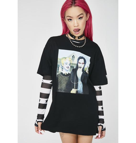 These Americans An American Gothic Tee