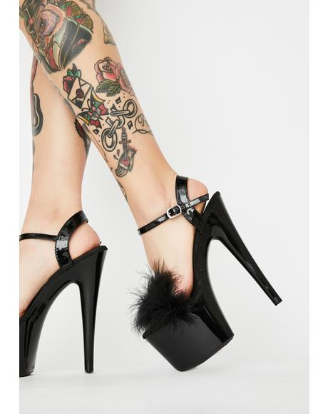 Heartless Bish Platform Heels