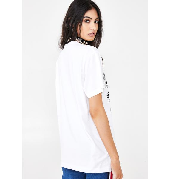 NEW GIRL ORDER Organic Logo Graphic Tee