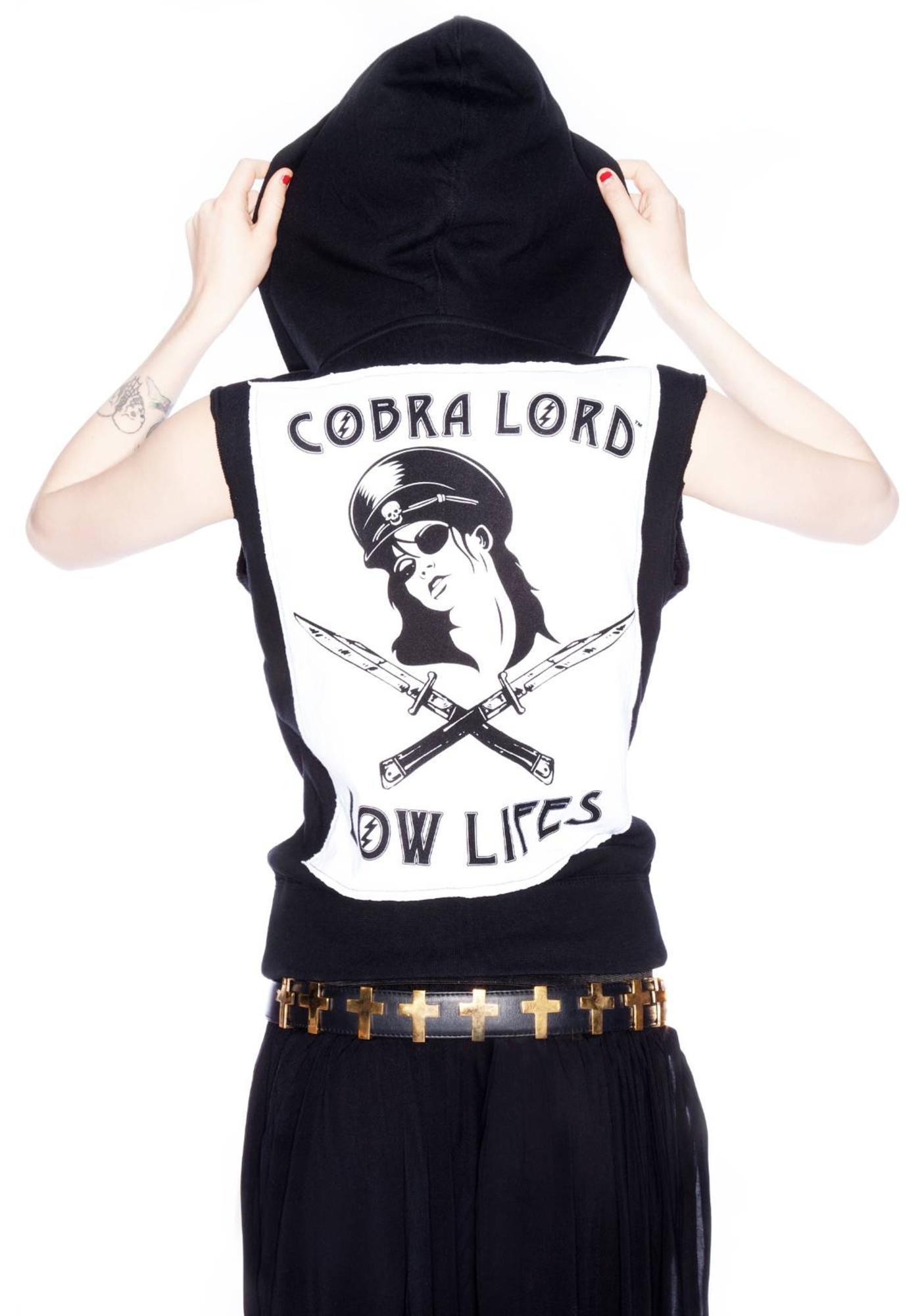 Low Life Sleeveless Hoodie
