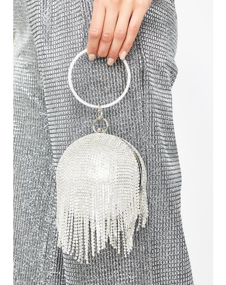 Sparkle Entity Rhinestone Clutch