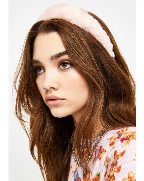 Sweet Cuties Only Fuzzy Headband