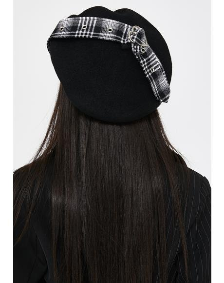 Night Love Me Tender Buckle Beret
