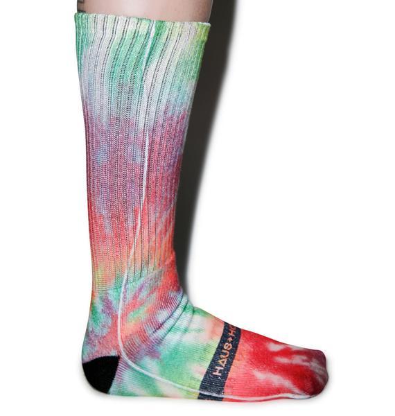 Slushiez Tie Dye Socks