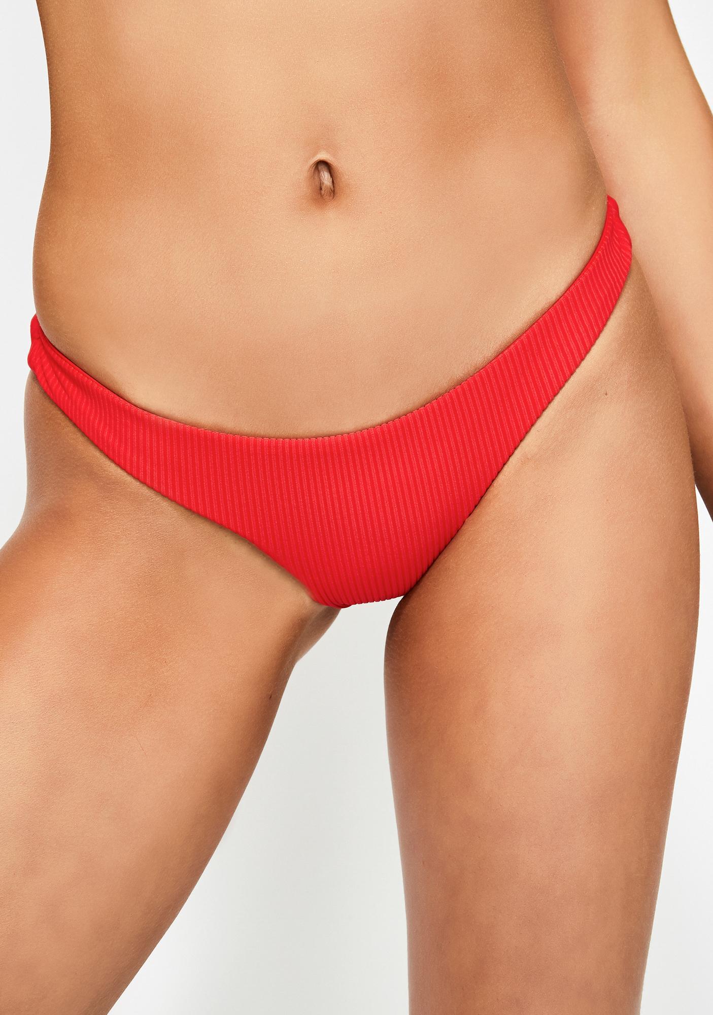 Frankies Bikinis Cherry Greer Bikini Bottoms