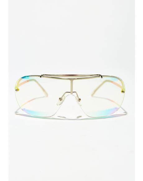 Prismatic Ecstasy Iridescent Glasses