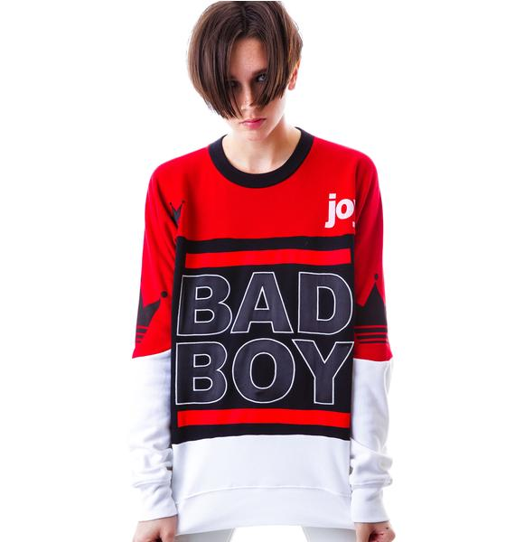 Joyrich Bad Boy Athletic Crew Sweatshirt
