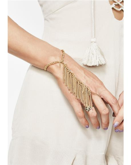 Gold Dust Hand Chain