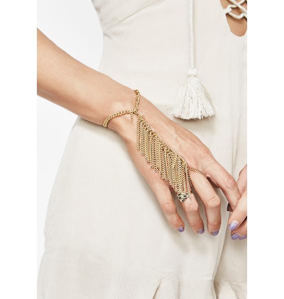 Gold Dust Hand Chain