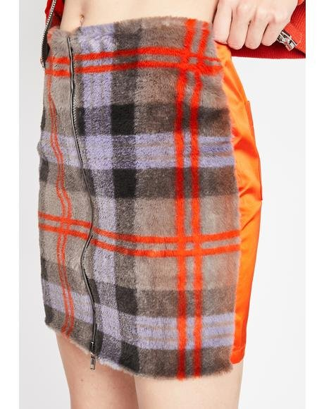 What Ur Missing Plaid Skirt