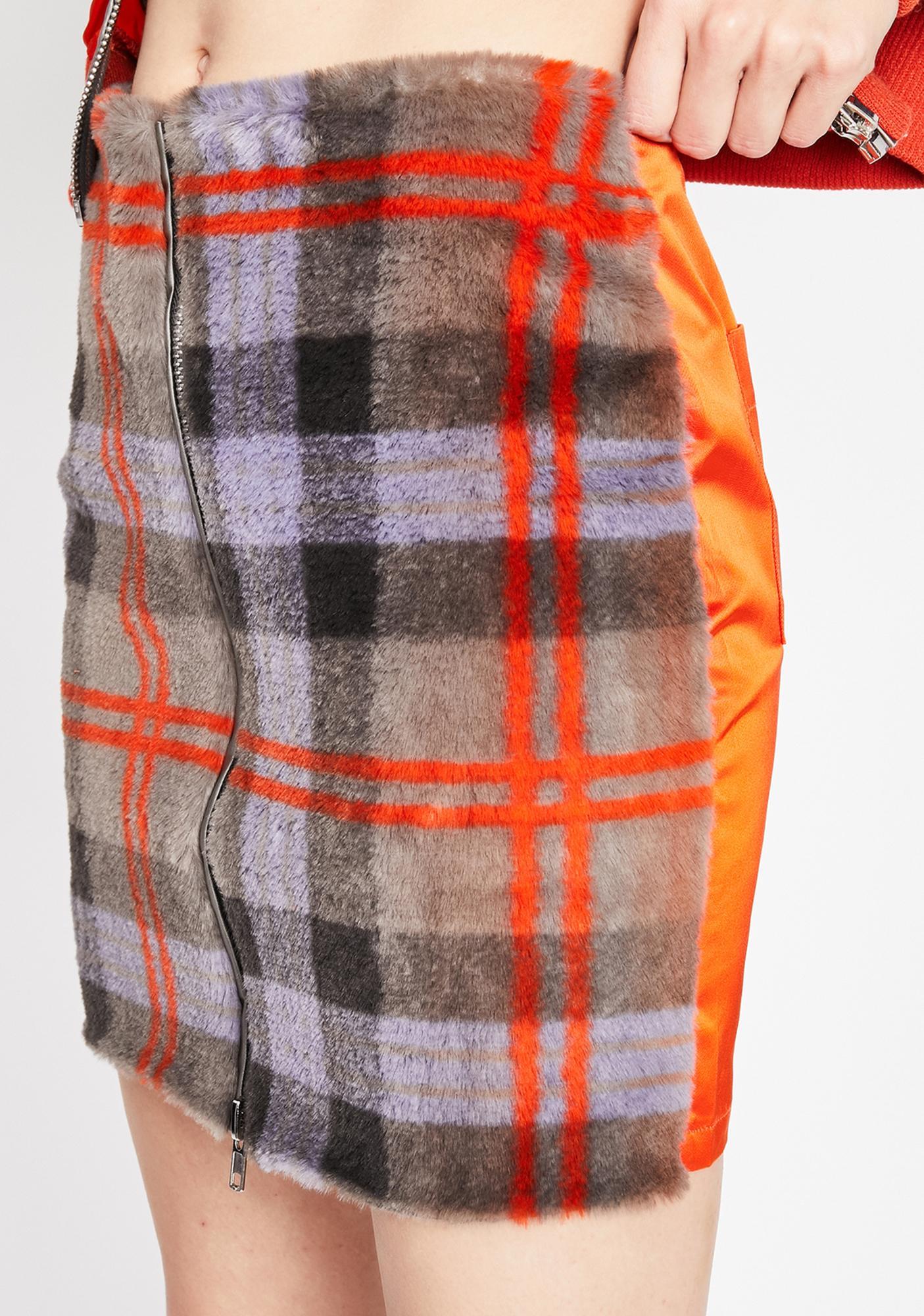 What Ur Missing Plaid Skirt