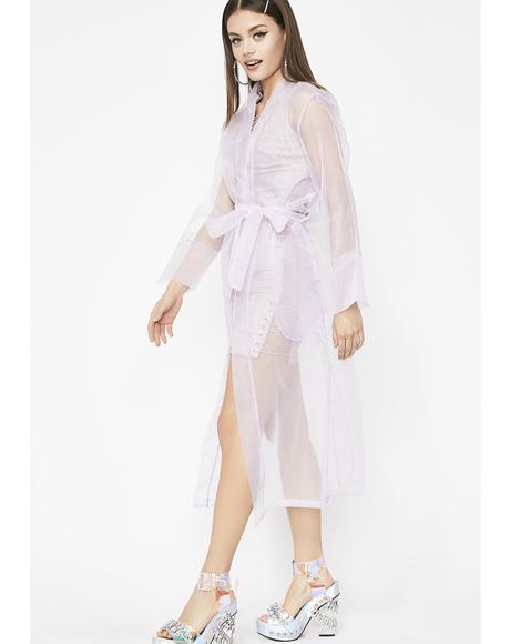 Ethereal Visionz Trench Coat