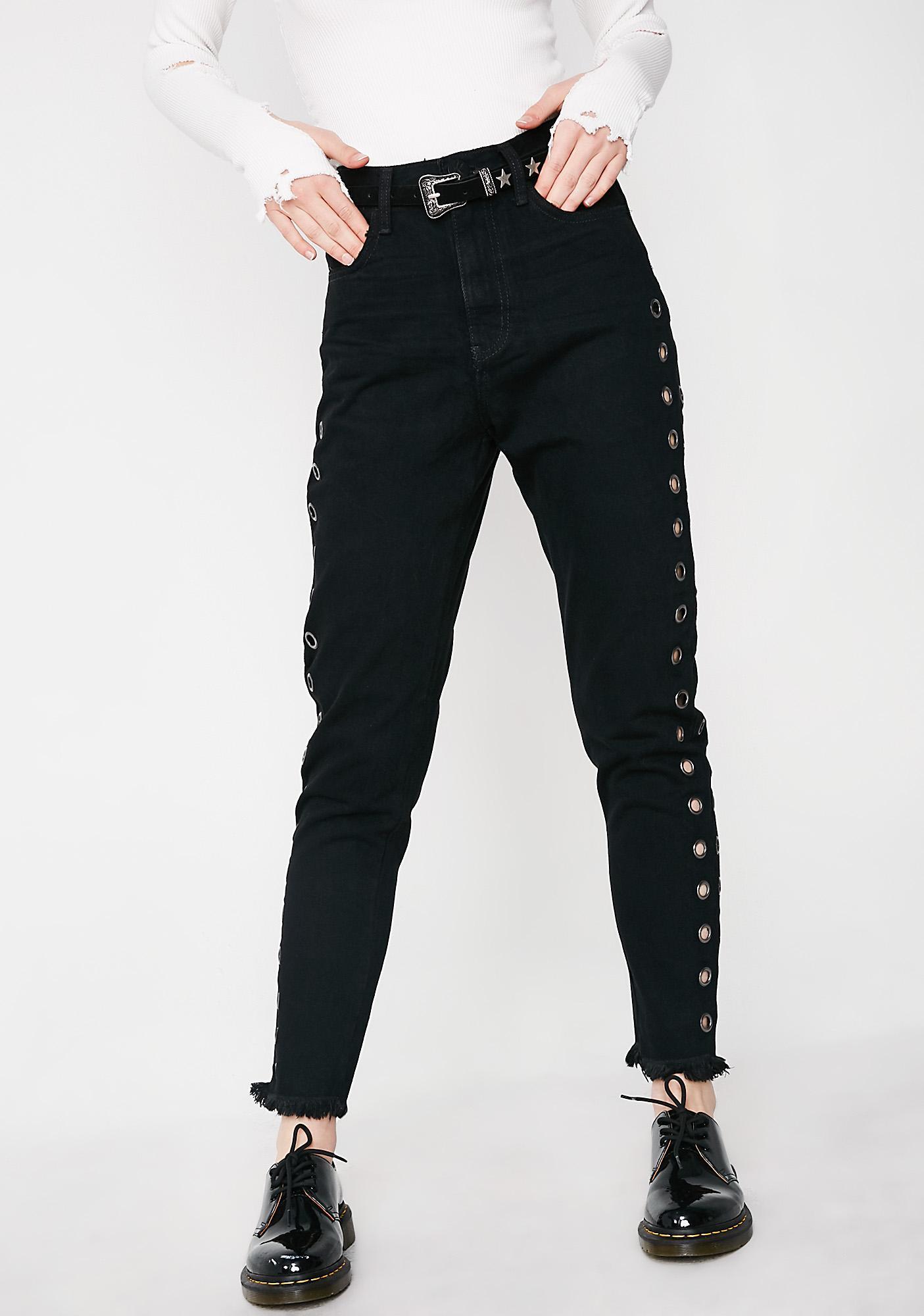 One Teaspoon Legend High Waist Mom Jeans