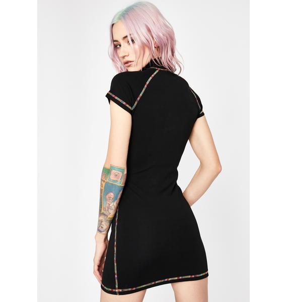 Current Mood Favored Icon Mini Dress