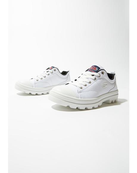 White Roadies True Roots Sneakers