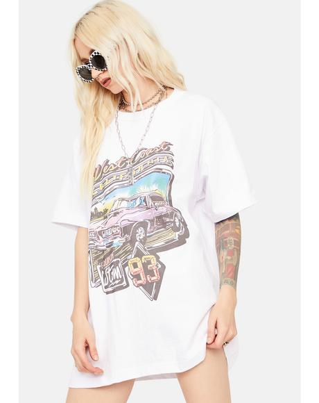 West Coast Best Coast Graphic Tee