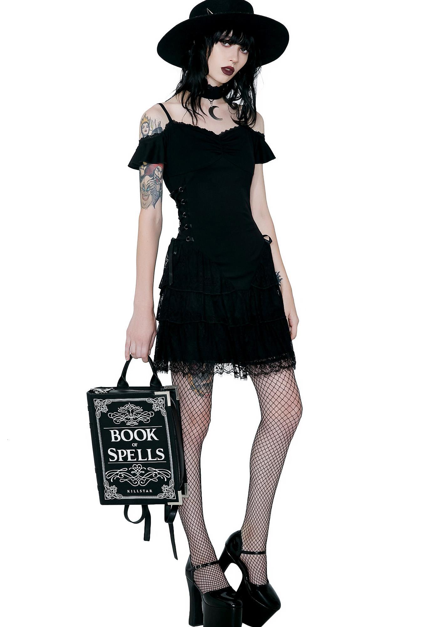 Killstar Black Magic Corset Dress