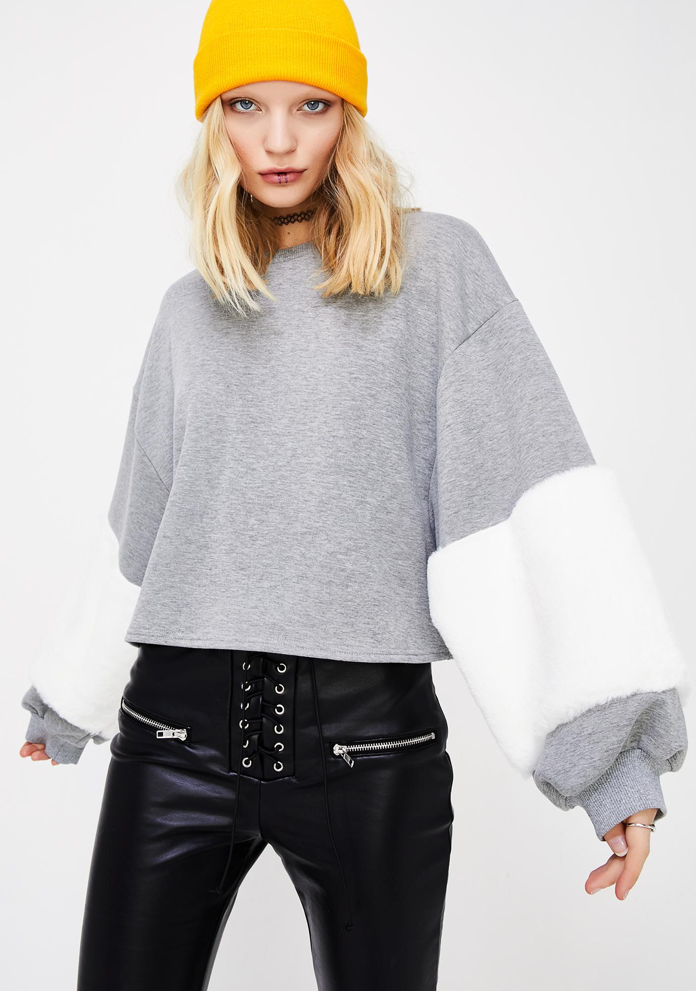 Fur Real Sweatshirt