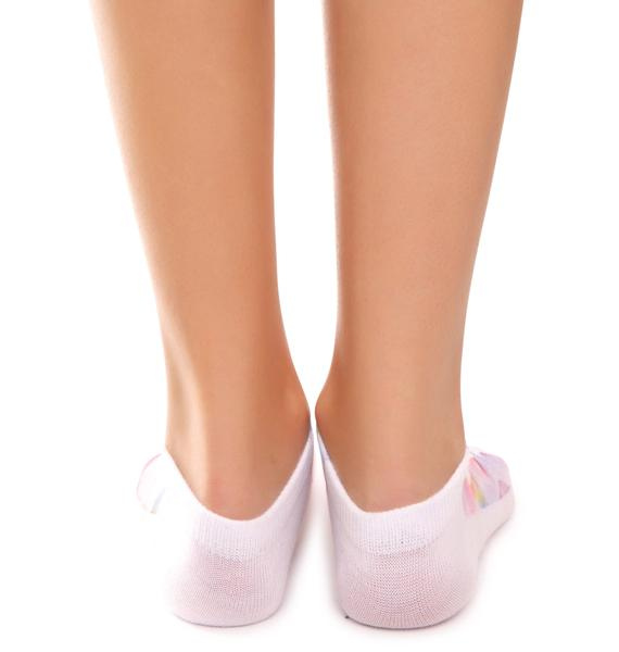 Pastel Princess Ankle Socks