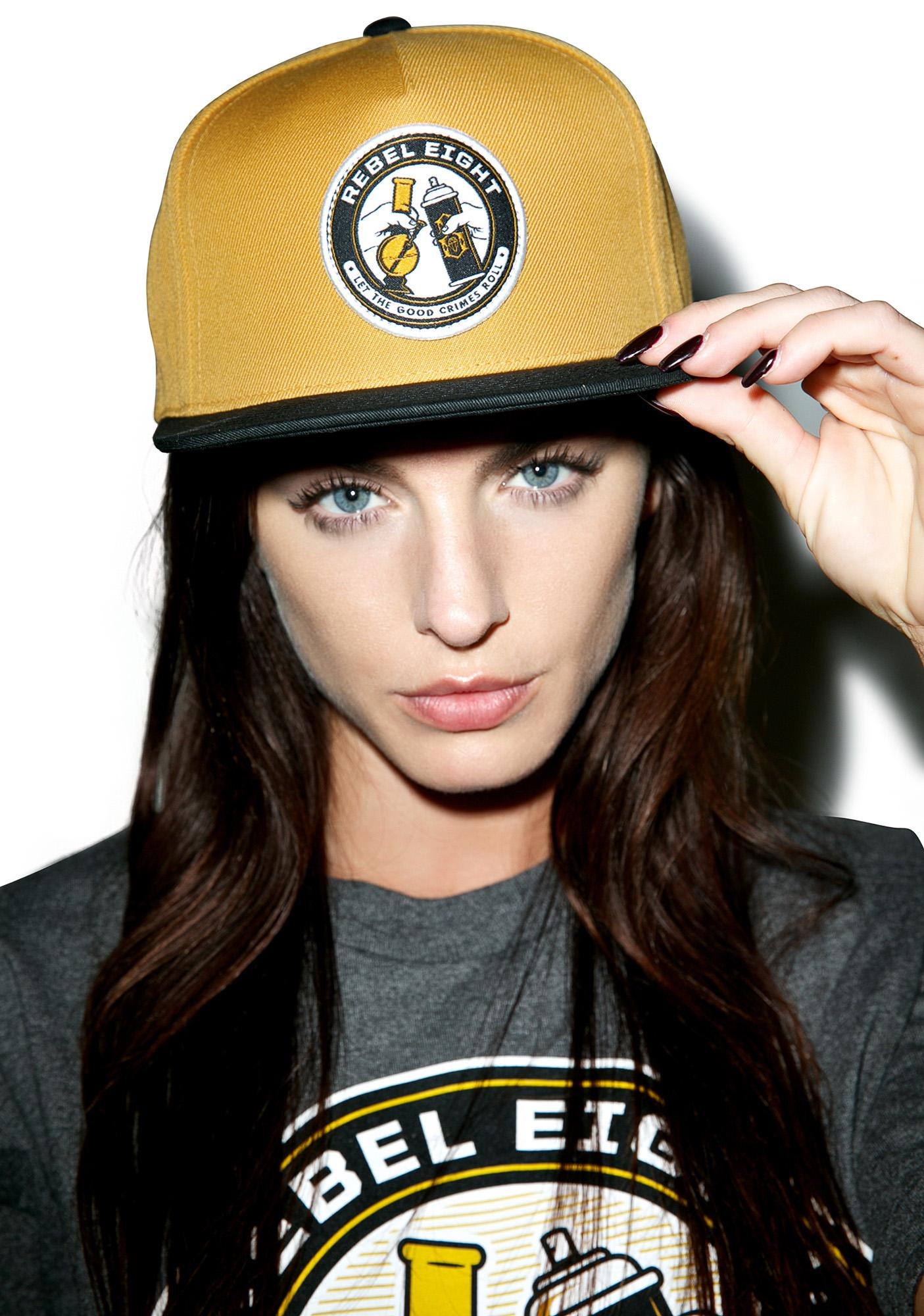 Rebel8 Good Crimes Snapback