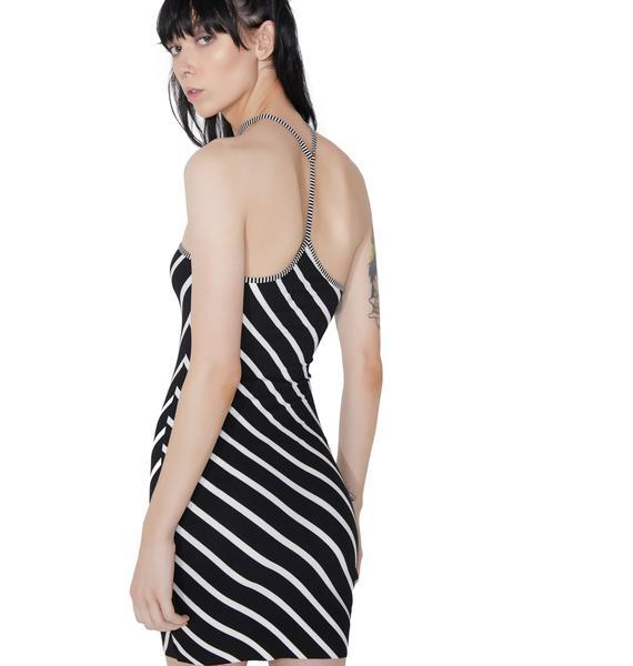 Jailbreak Choker Mini Dress