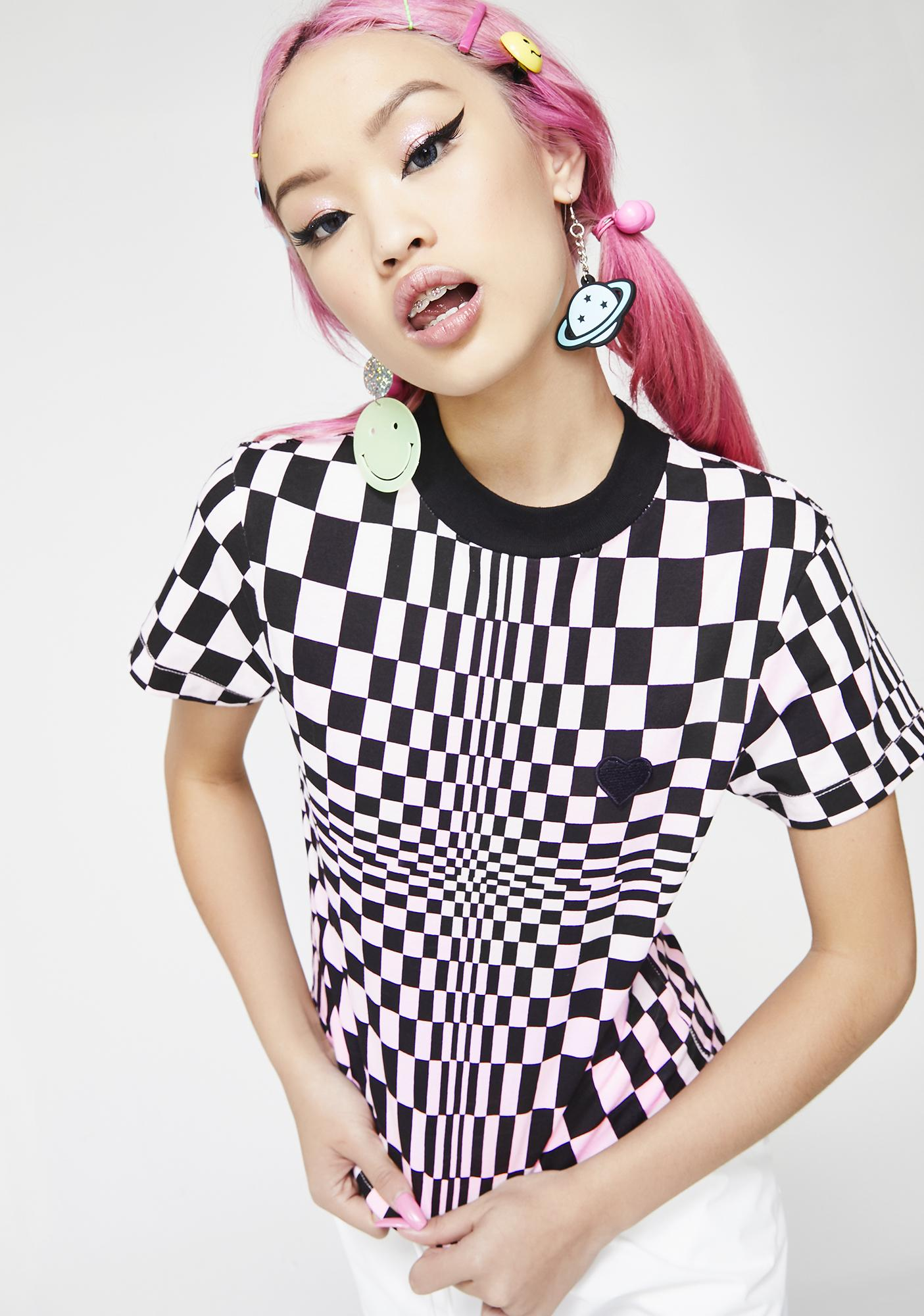 Lazy Oaf Tripping Out Tee