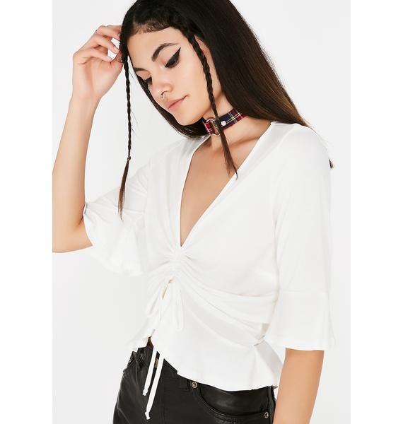 Tie It Up Cinched Top