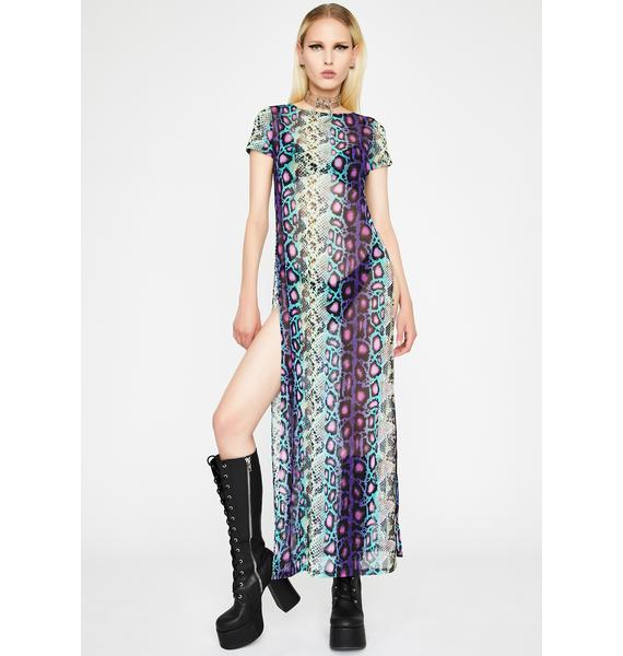 Perfectly Poisonous Mesh Tunic