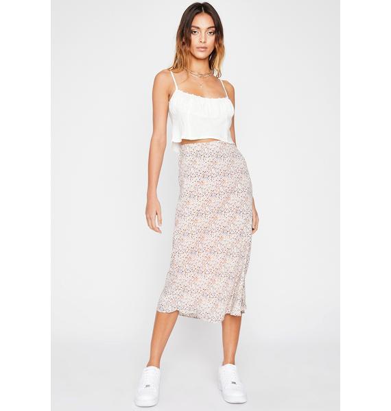 Eat Ya Heart Out Leopard Skirt