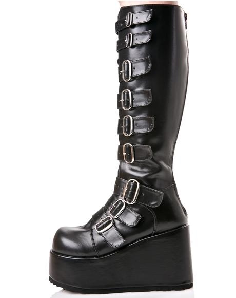 Concord Buckle Platform Boots