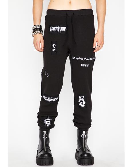 Generation Psycho Patched Sweatpants