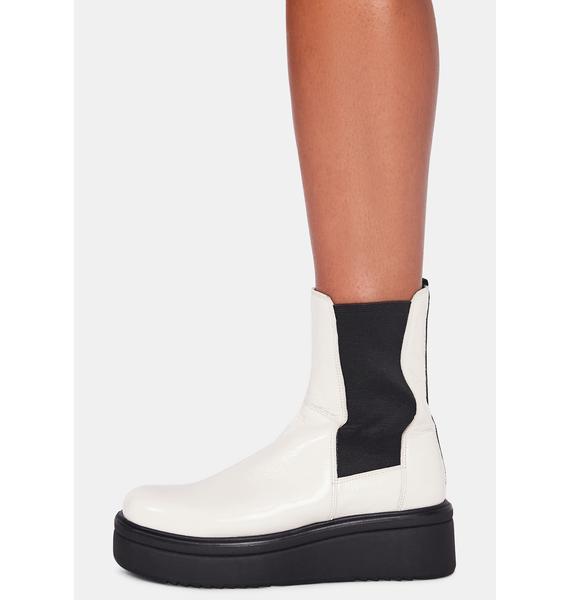 VAGABOND SHOEMAKERS White Tara Boots