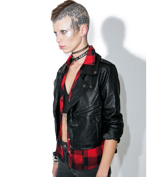 Gypsy Warrior Cherrybomb Moto Jacket
