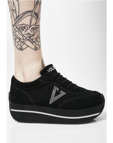 Midnight Expulsion Platform Sneakers