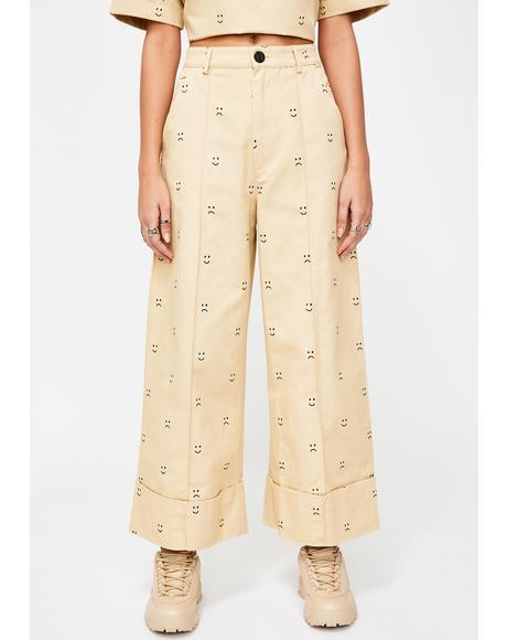 Happy Sad Chino Trousers