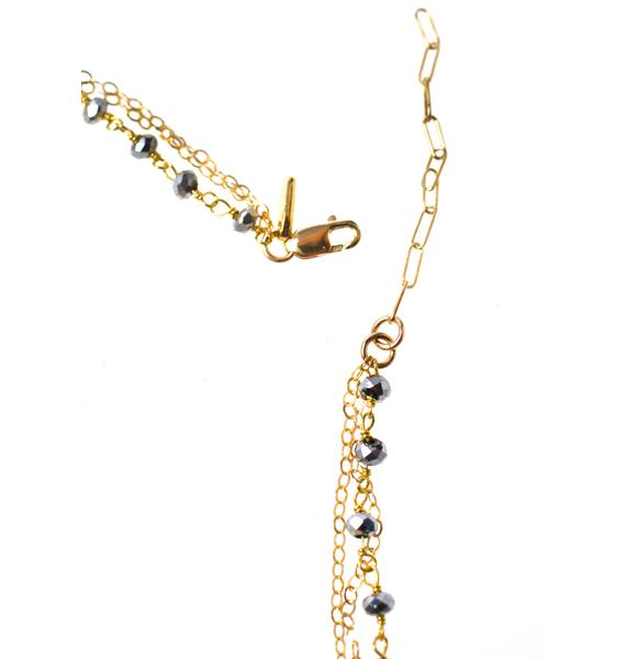 Vanessa Mooney The Kites Three Chain Choker