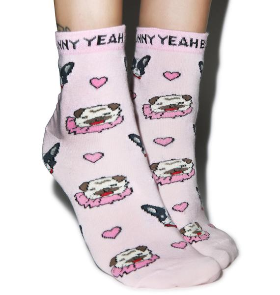 Yeah Bunny Dogs Socks