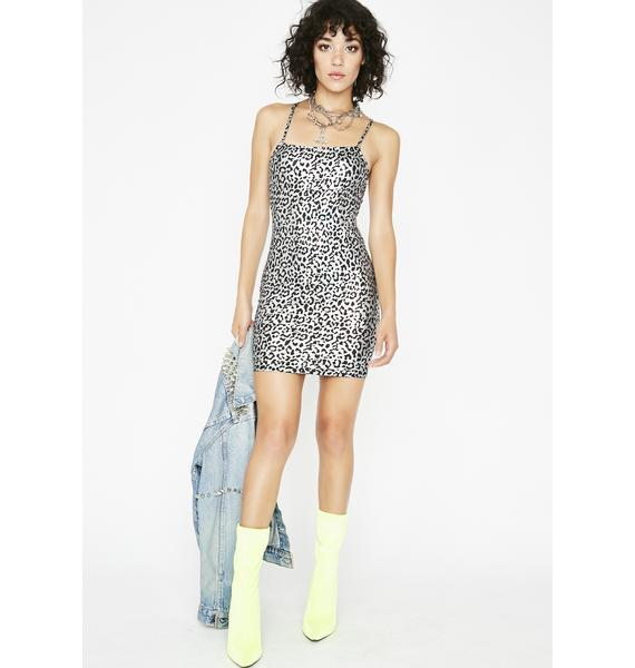 Special Affair Metallic Dress