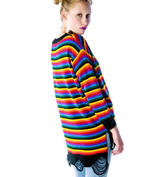 UNIF Acid Sweater