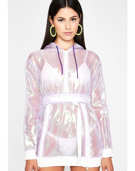Plum Pixie Potion Iridescent Dress