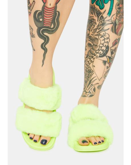 Cozy Dreams Faux Fur Slippers