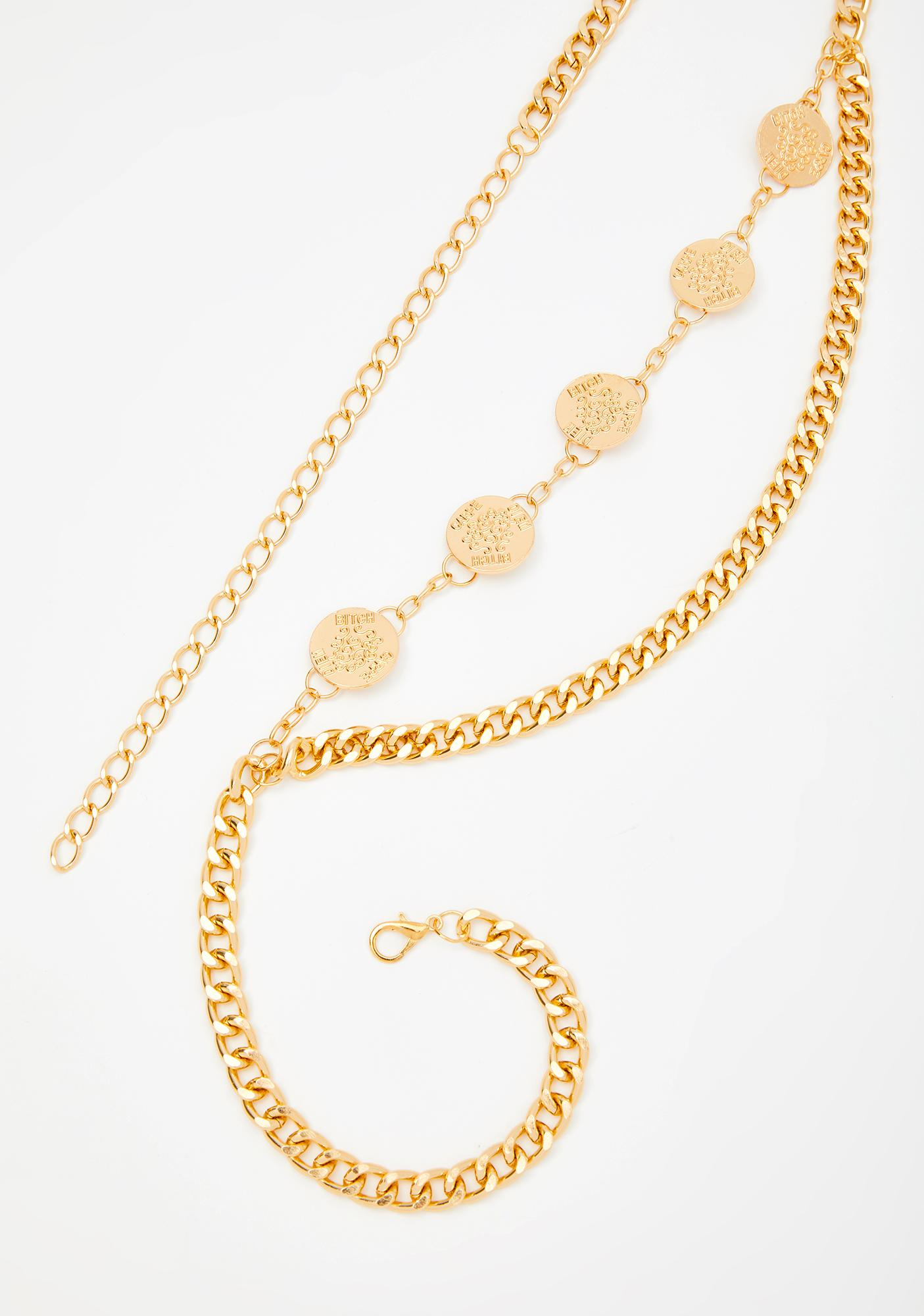 Lavish Enchantress Waist Chain