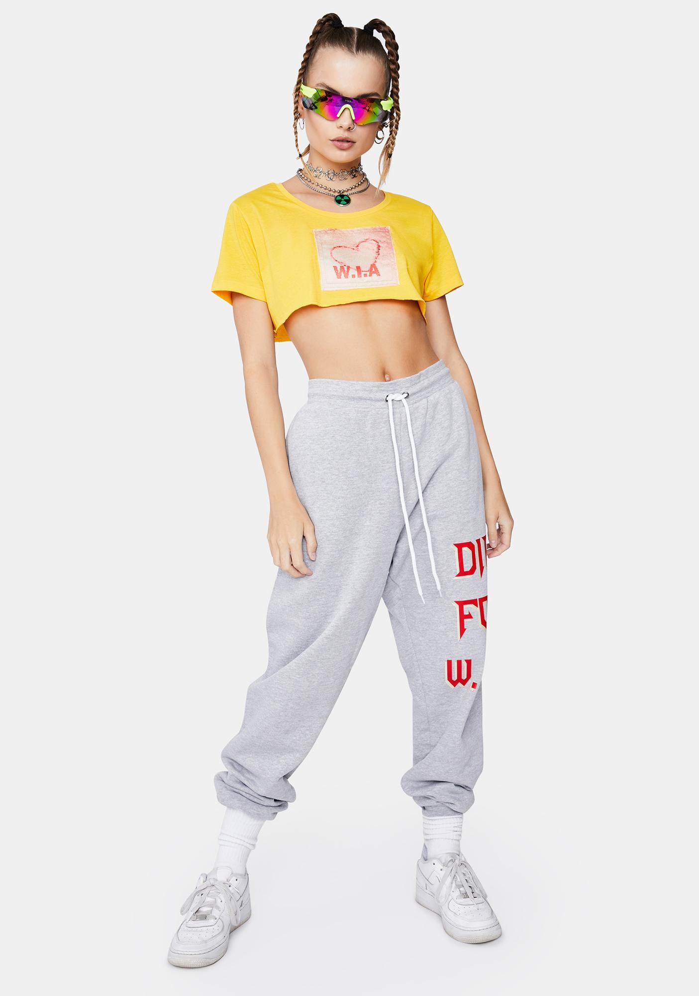 W.I.A Die For W.I.A Sweatpants