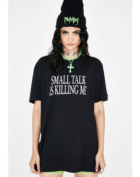 Small Talk Graphic Tee