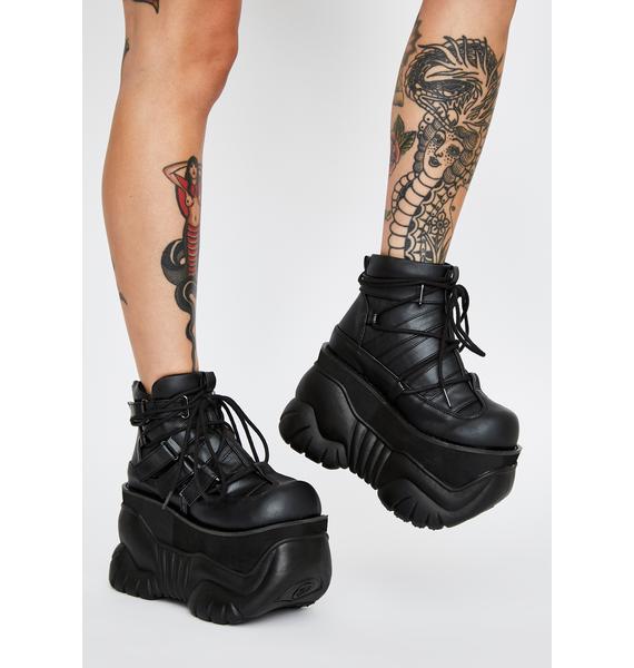 Demonia Psytrix Platform Boots