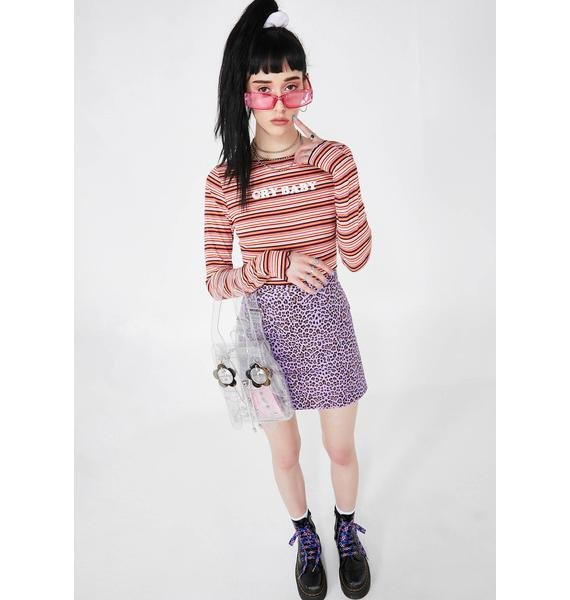 Cry BB Stripe Top