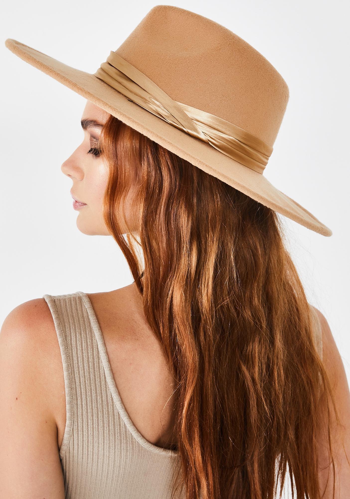 Natural Rebel Reputation Wide Brim Hat